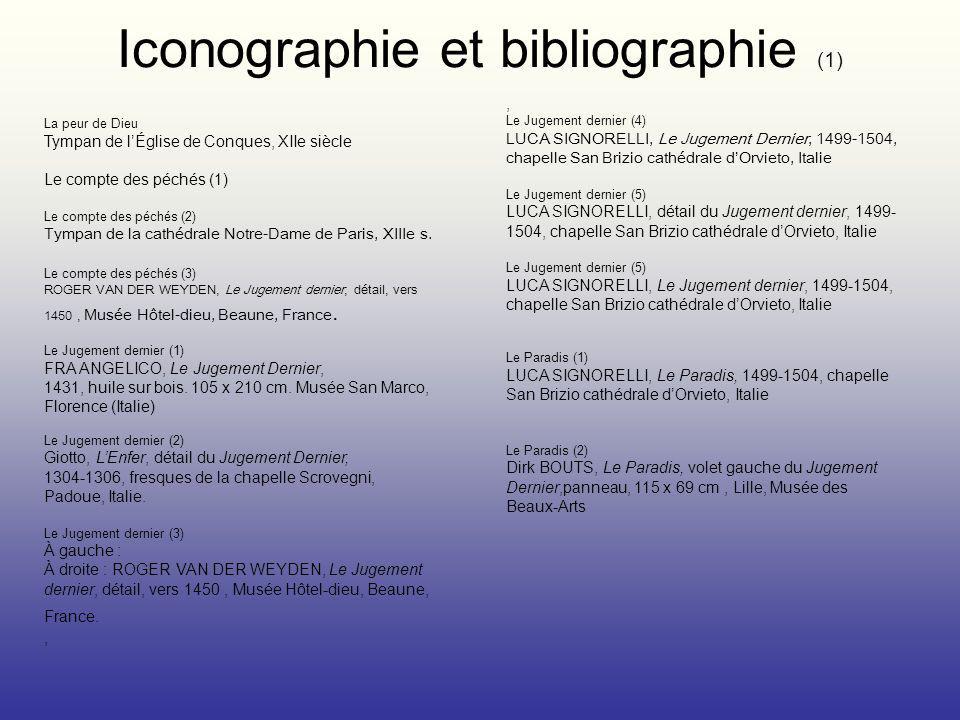Iconographie et bibliographie (1)