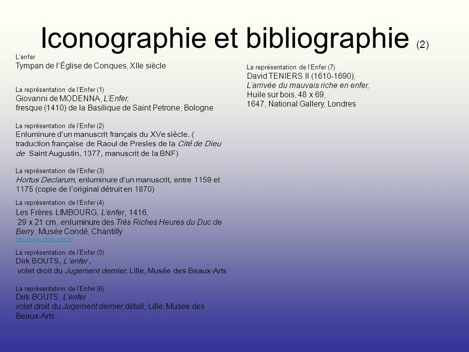 Iconographie et bibliographie (2)
