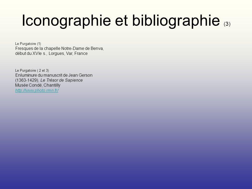 Iconographie et bibliographie (3)