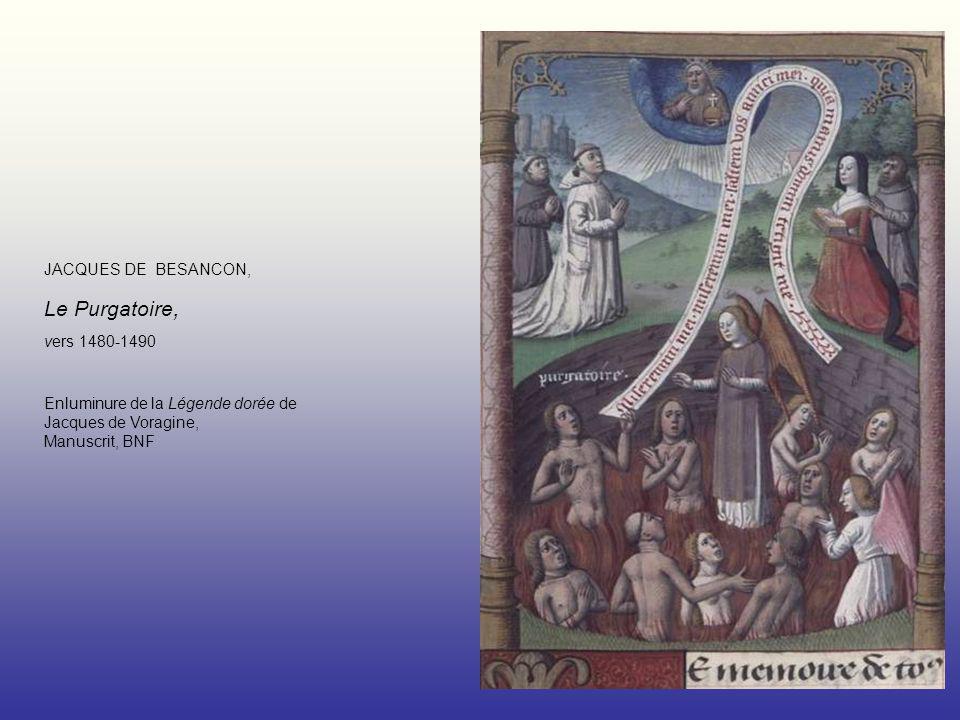 Enluminure de la Légende dorée de Jacques de Voragine, Manuscrit, BNF
