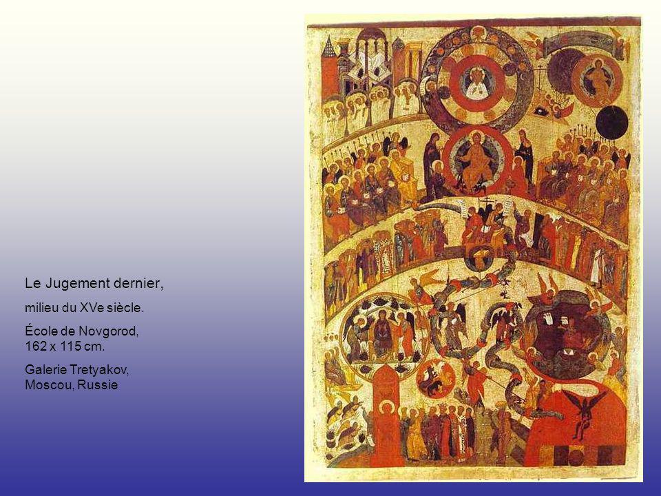 Le Jugement dernier, milieu du XVe siècle.