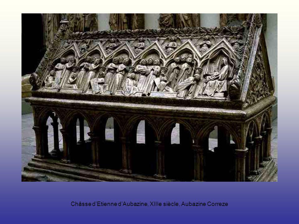 Châsse d'Etienne d'Aubazine, XIIIe siècle, Aubazine Correze
