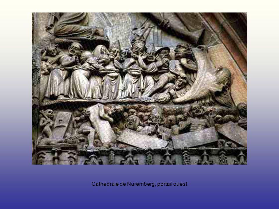 Cathédrale de Nuremberg, portail ouest