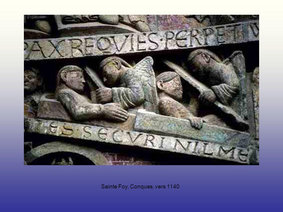 Sainte Foy, Conques, vers 1140