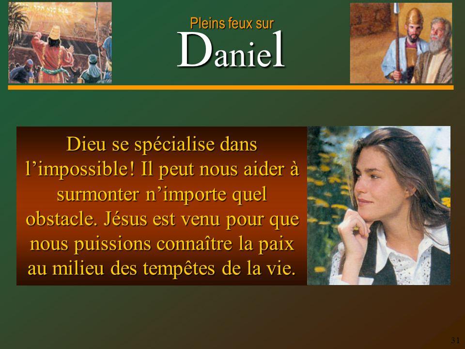 Dieu se spécialise dans l'impossible