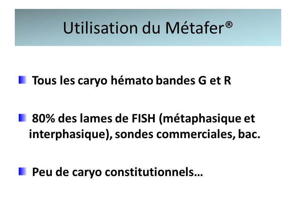Utilisation du Métafer®