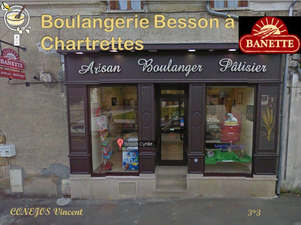 Boulangerie Besson à Chartrettes