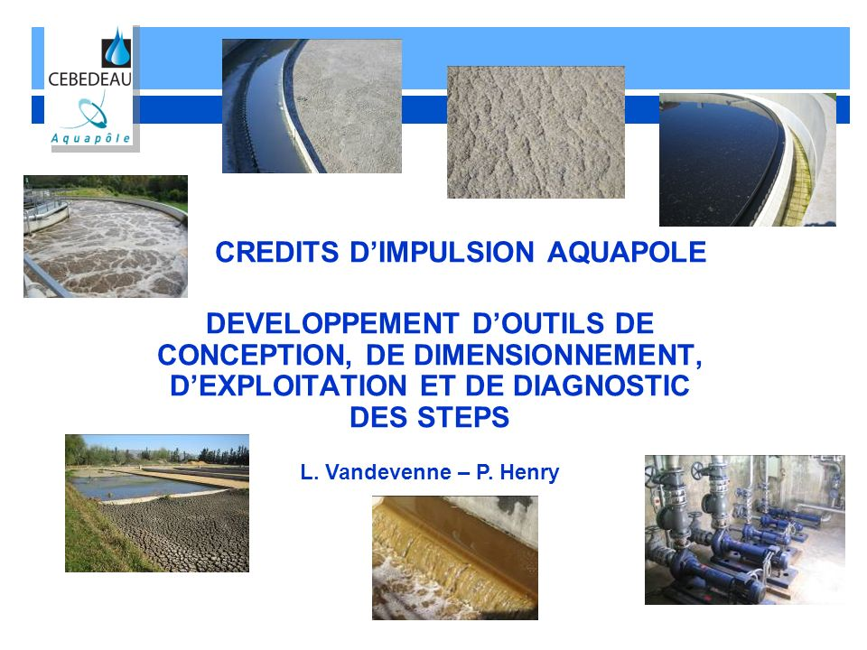 CREDITS D'IMPULSION AQUAPOLE