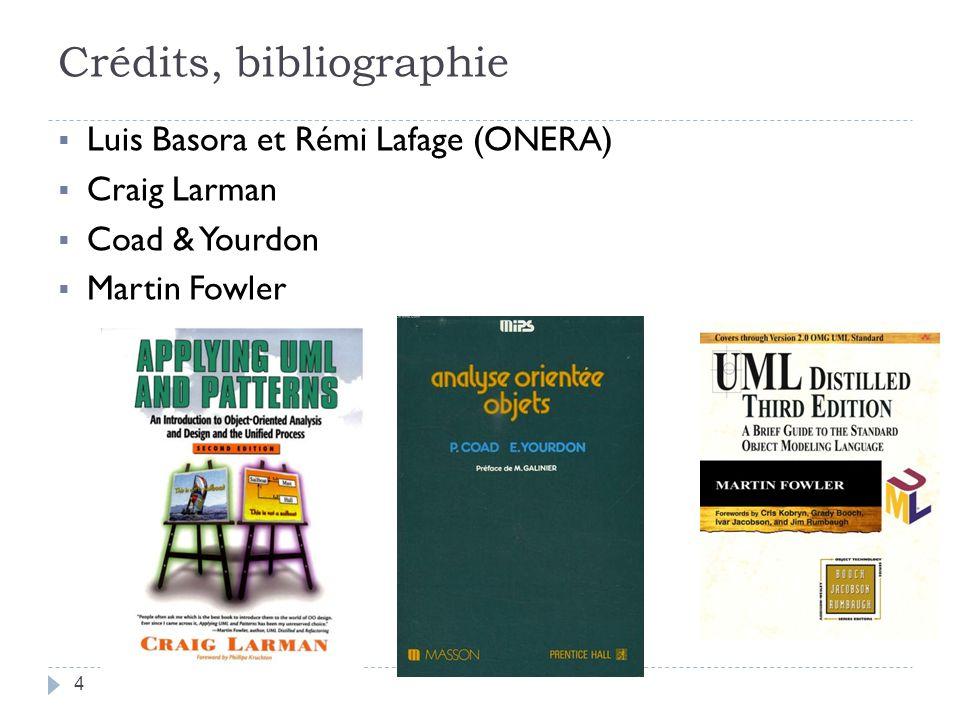 Crédits, bibliographie