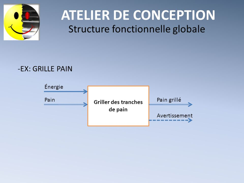 Structure fonctionnelle globale