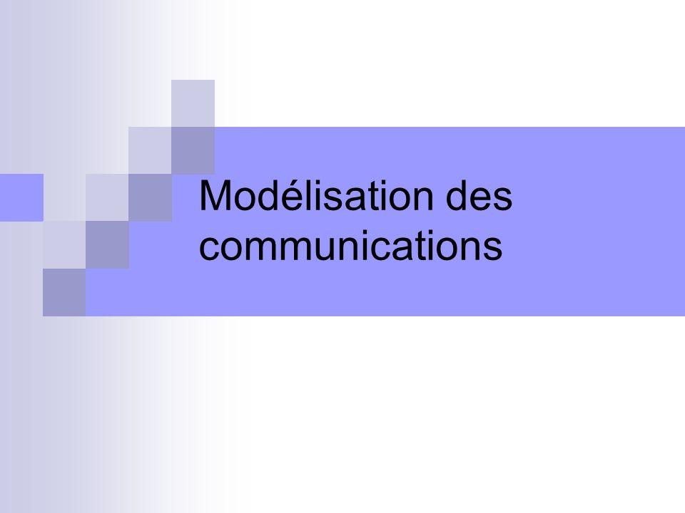 Modélisation des communications
