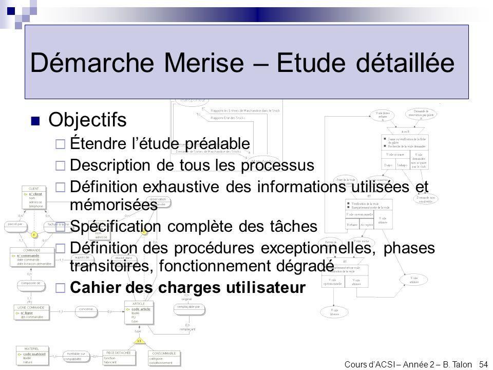 Analyse et conception des syst mes d information ppt t l charger - Definition cahier des charges ...