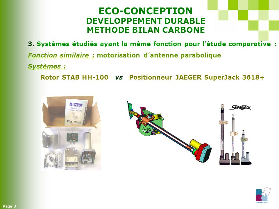 ECO-CONCEPTION DEVELOPPEMENT DURABLE METHODE BILAN CARBONE