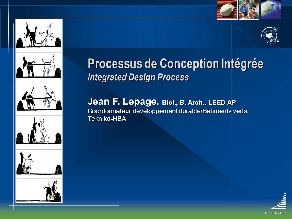 Processus de Conception Intégrée