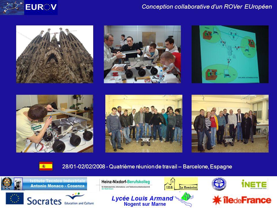 28/01-02/02/2008 - Quatrième réunion de travail – Barcelone, Espagne