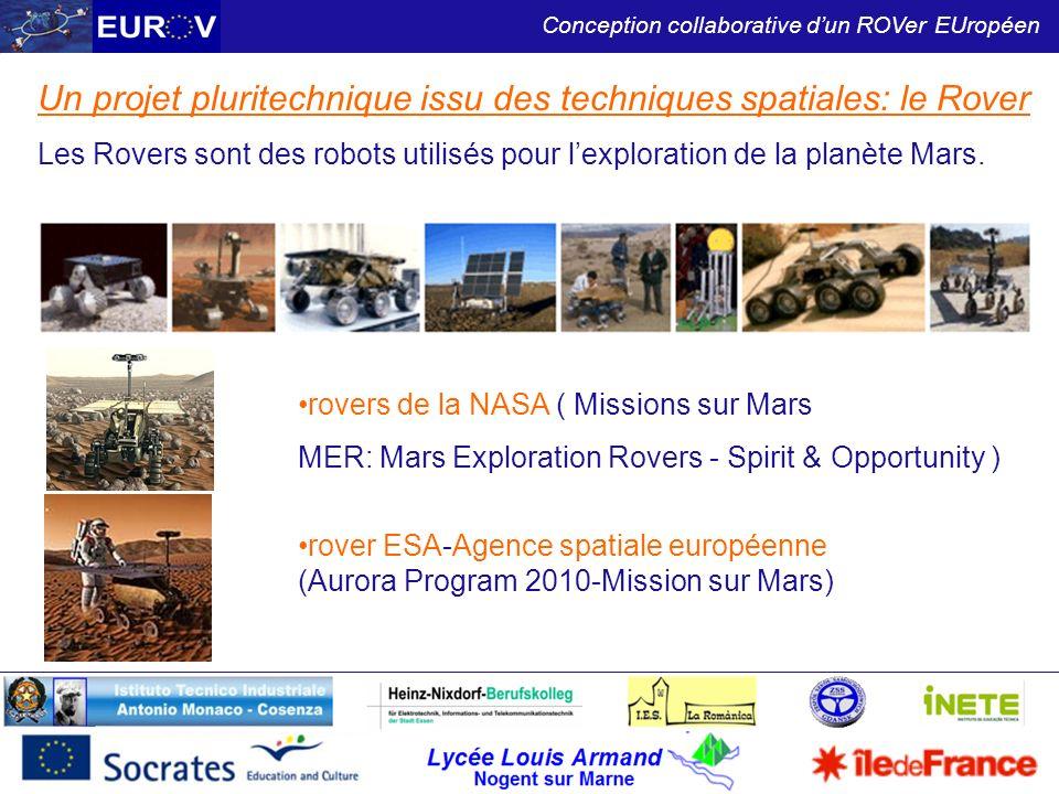 Un projet pluritechnique issu des techniques spatiales: le Rover