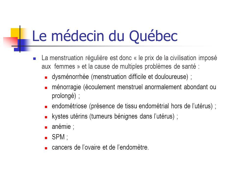 Le médecin du Québec