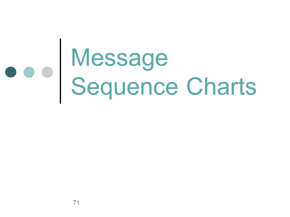 Message Sequence Charts