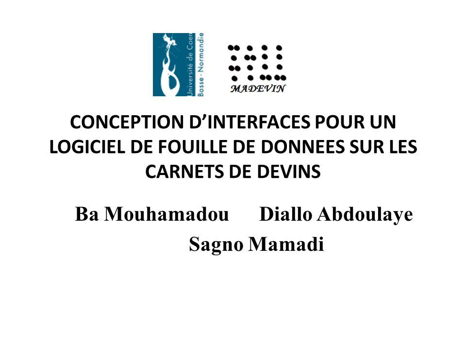 Ba Mouhamadou Diallo Abdoulaye Sagno Mamadi