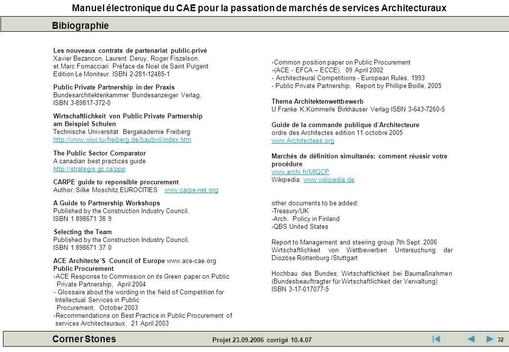 Bibiographie Les nouveaux contrats de partenariat public-privé