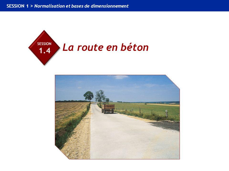 Session 1.4 La route en béton