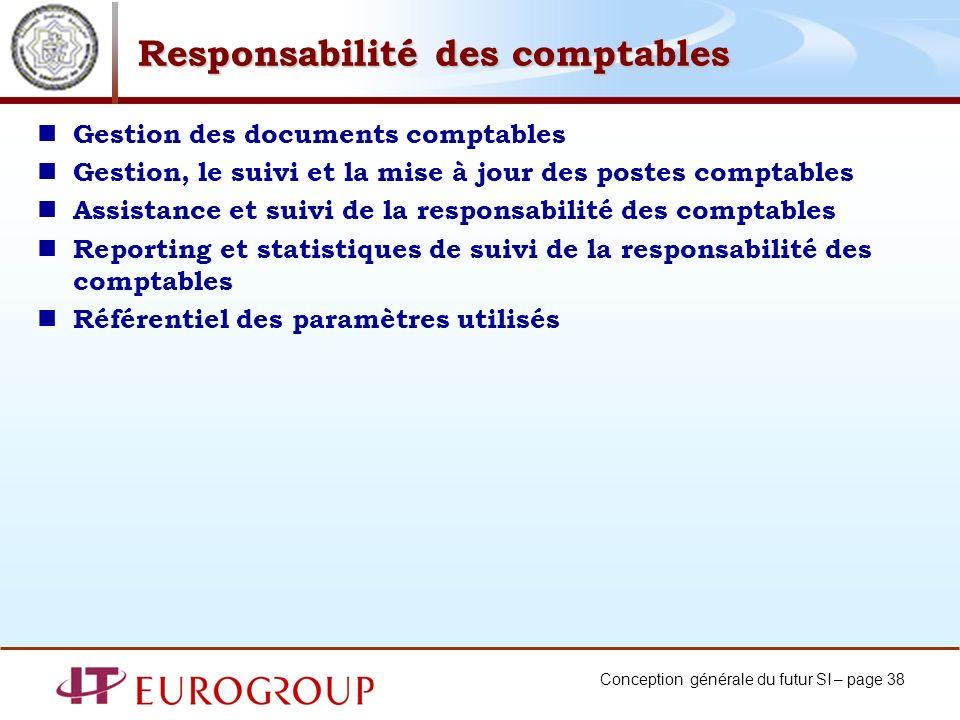 Responsabilité des comptables