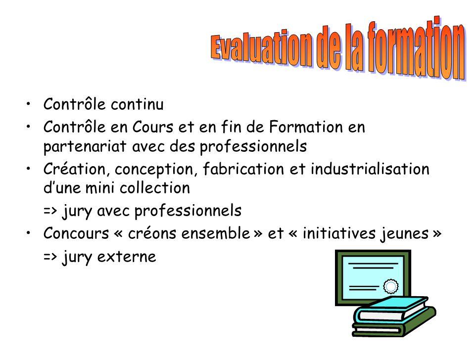 Evaluation de la formation