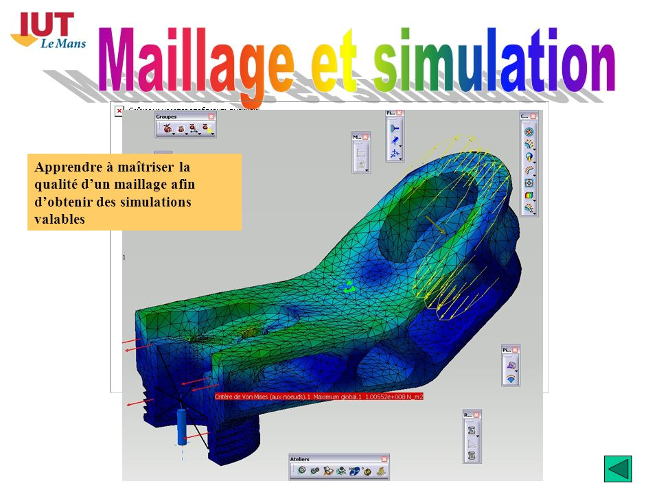 Maillage et simulation