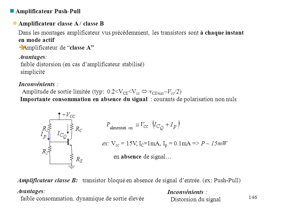 Amplificateur Push-Pull