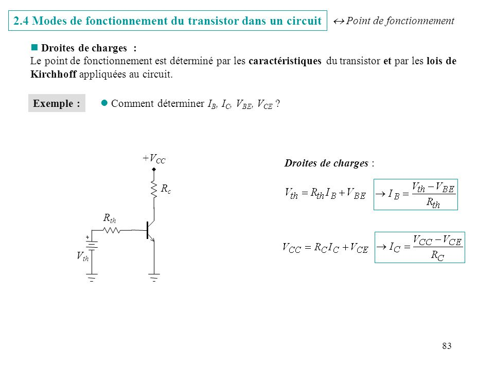 Institut d electronique du solide et des syst mes iness for Transistor fonctionnement