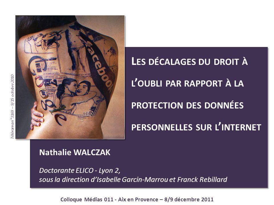 Colloque Médias 011 - Aix en Provence – 8/9 décembre 2011