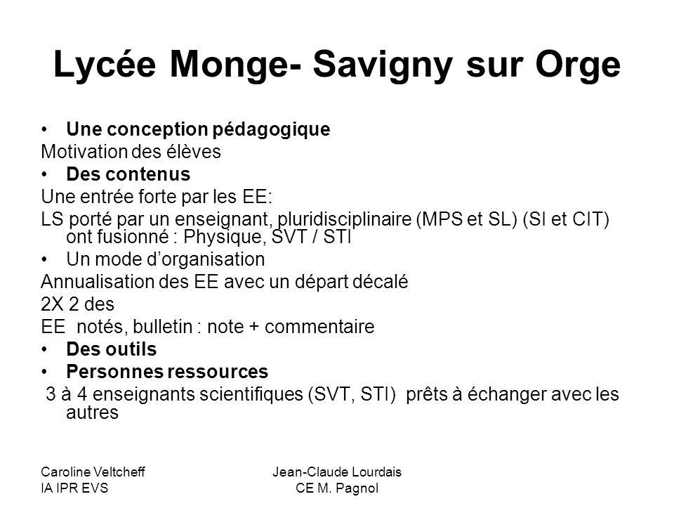 Lycée Monge- Savigny sur Orge