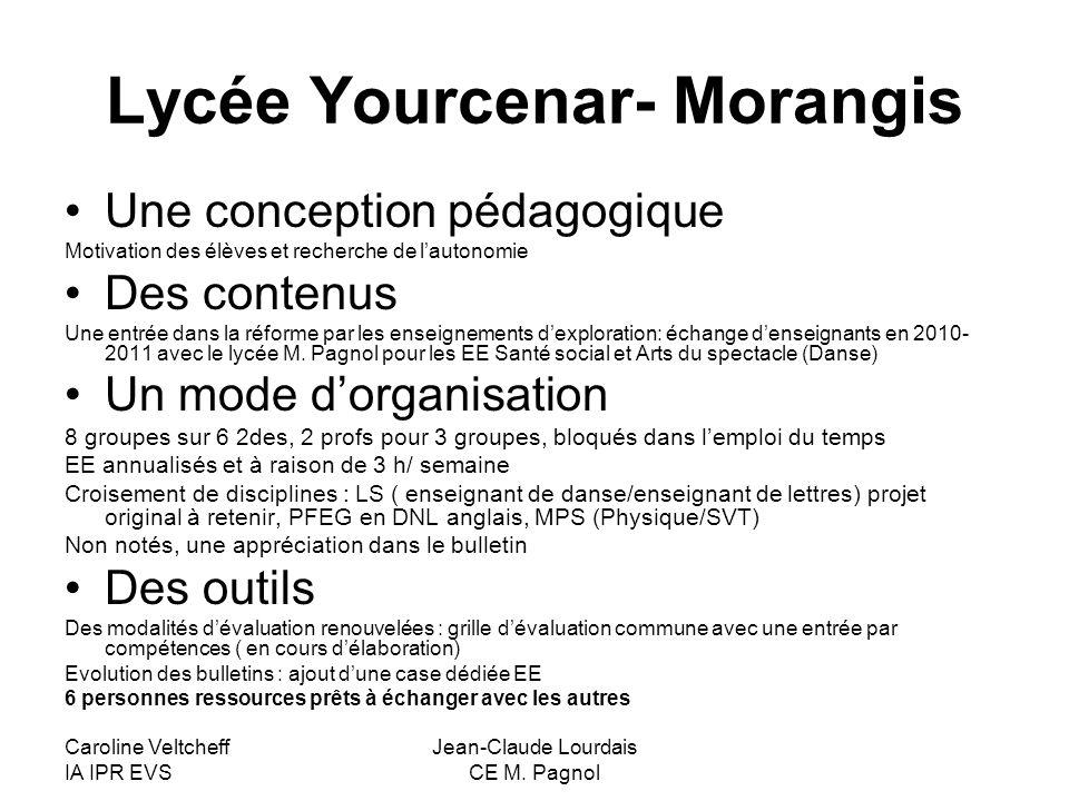 Lycée Yourcenar- Morangis