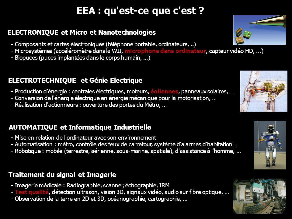 EEA : qu est-ce que c est ELECTRONIQUE et Micro et Nanotechnologies