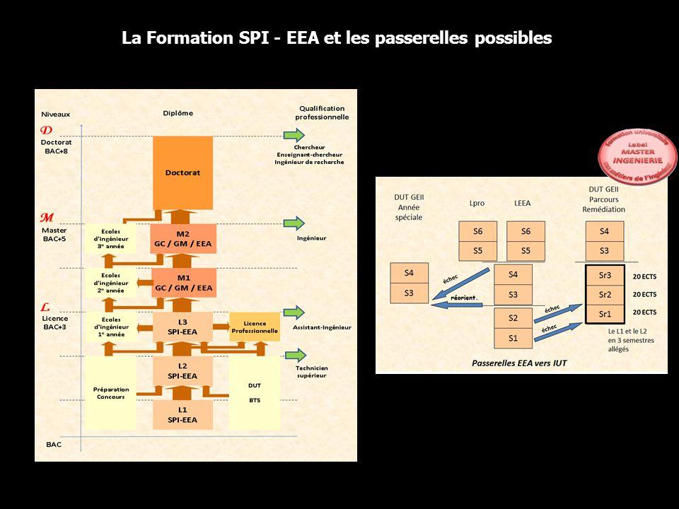 La Formation SPI - EEA et les passerelles possibles