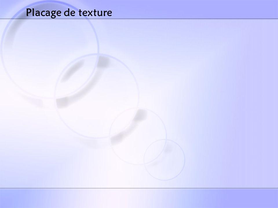 Placage de texture
