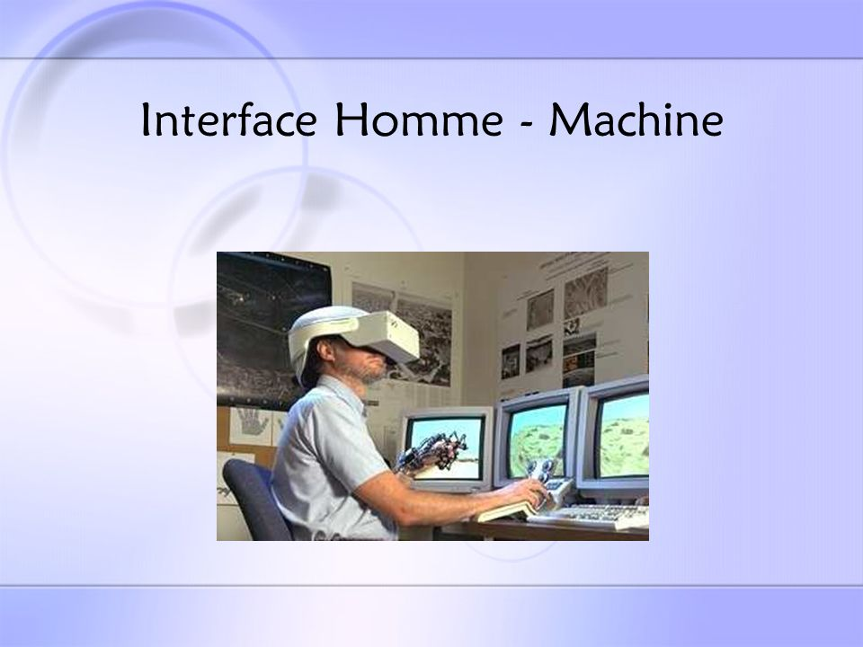 Interface Homme - Machine