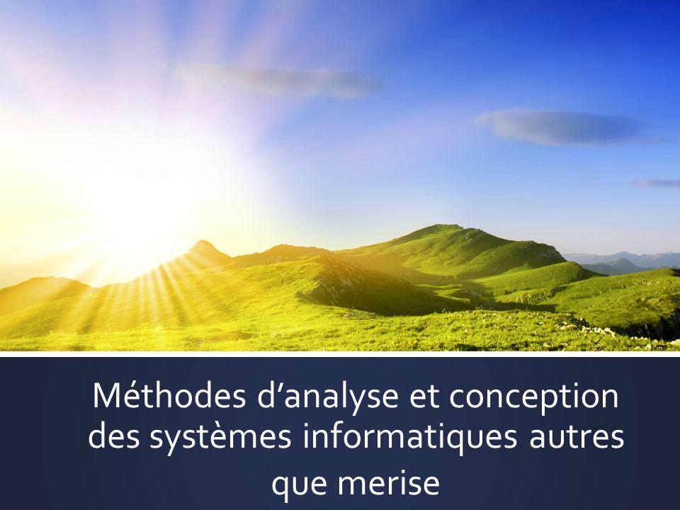 Méthodes d'analyse et conception des systèmes informatiques autres que merise