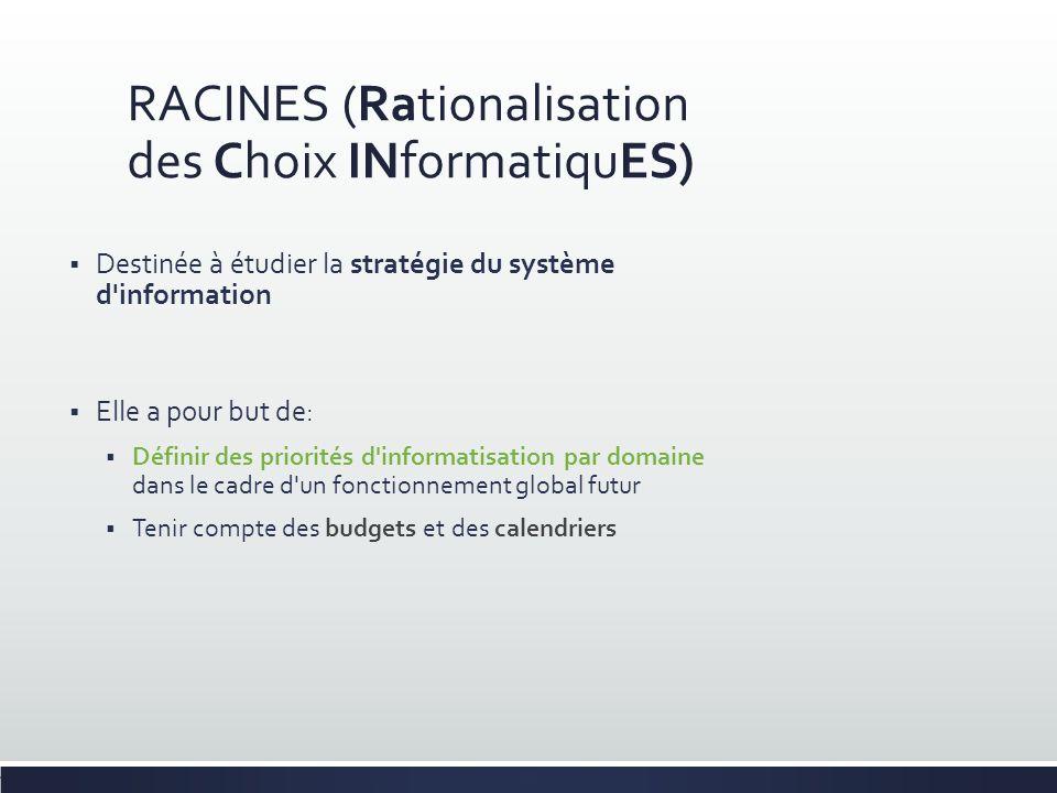 RACINES (Rationalisation des Choix INformatiquES)