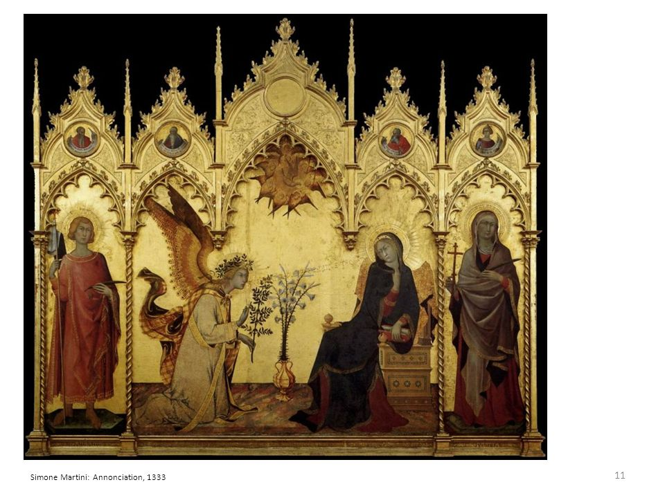 Simone Martini: Annonciation, 1333