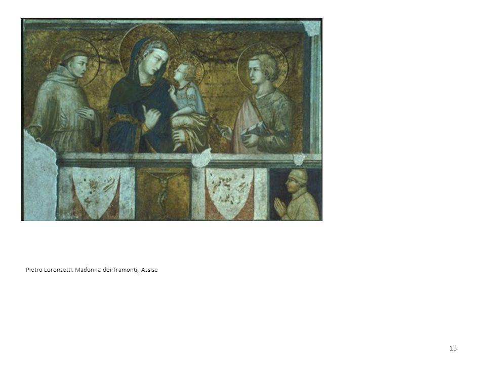 Pietro Lorenzetti: Madonna dei Tramonti, Assise