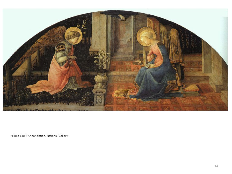Filippo Lippi: Annonciation, National Gallery