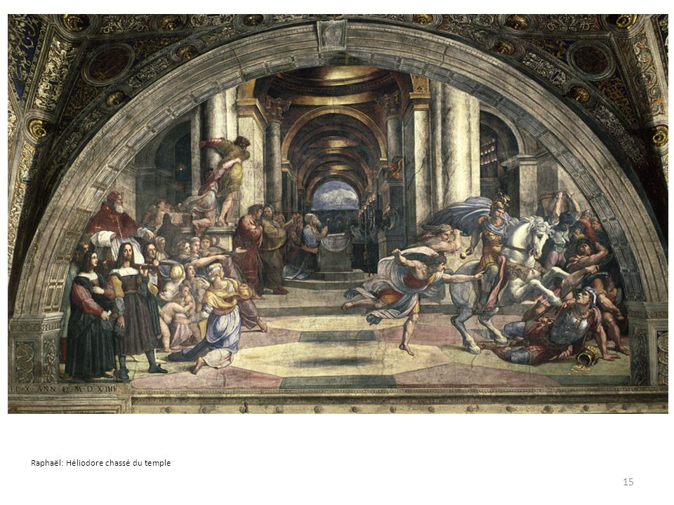 Raphaël: Héliodore chassé du temple