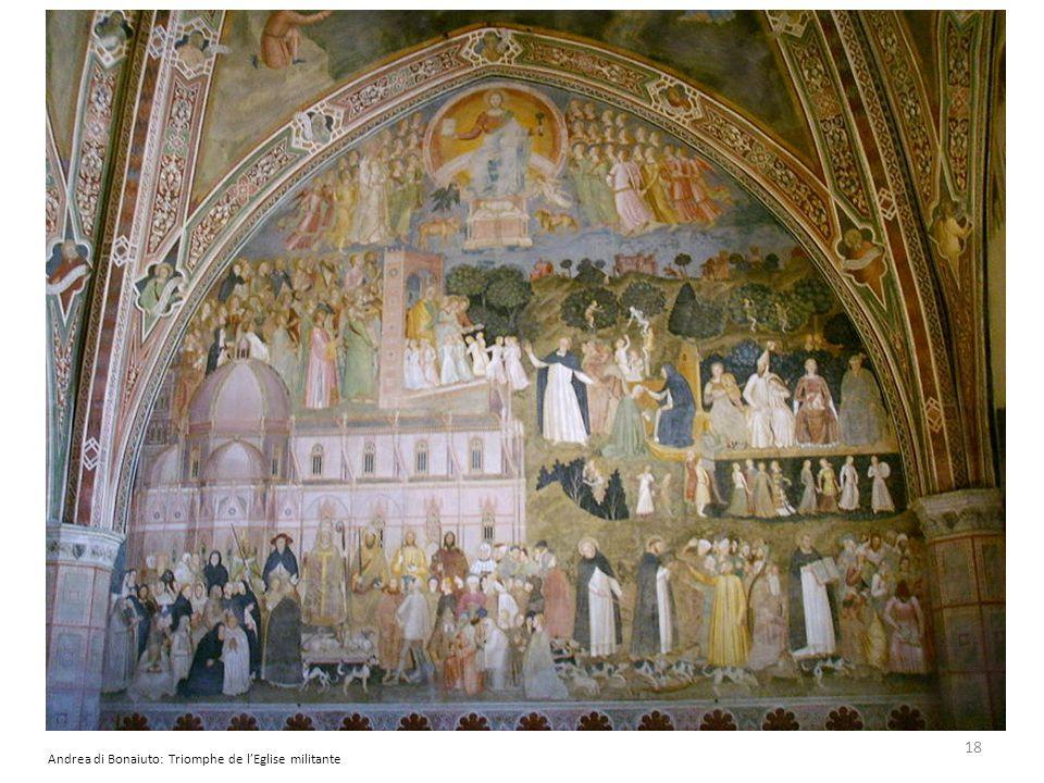 Andrea di Bonaiuto: Triomphe de l'Eglise militante