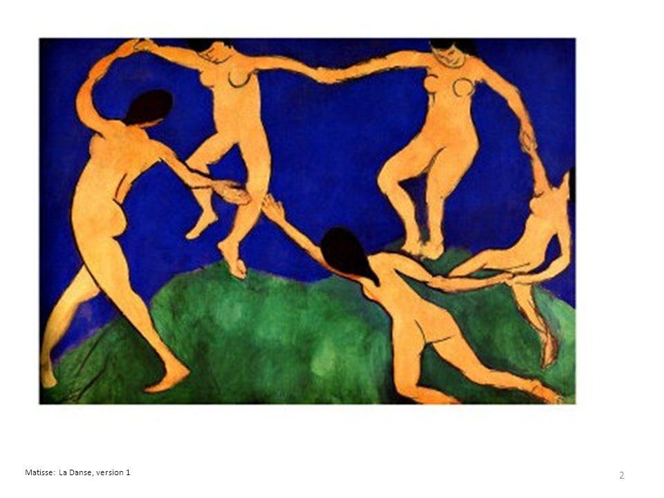 Matisse: La Danse, version 1