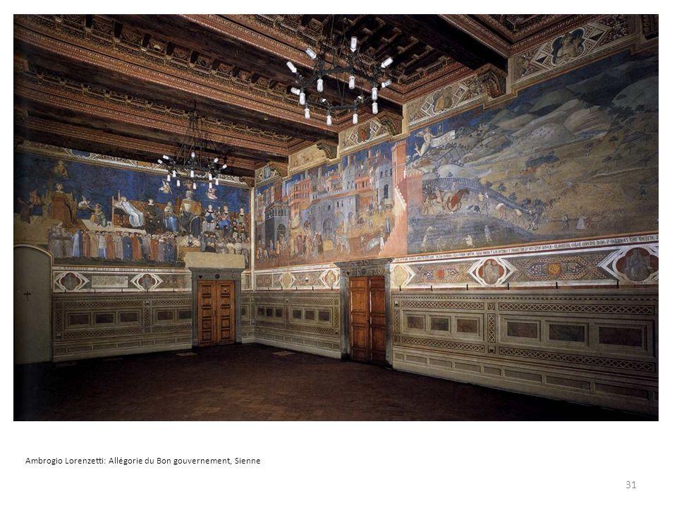 Ambrogio Lorenzetti: Allégorie du Bon gouvernement, Sienne