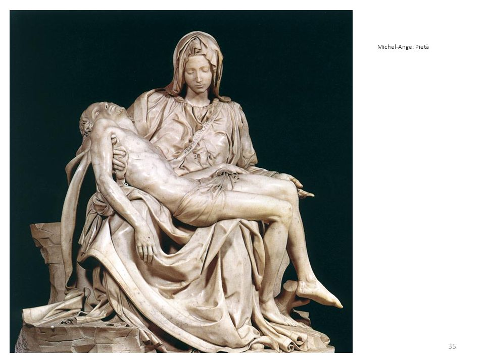 Michel-Ange: Pietà