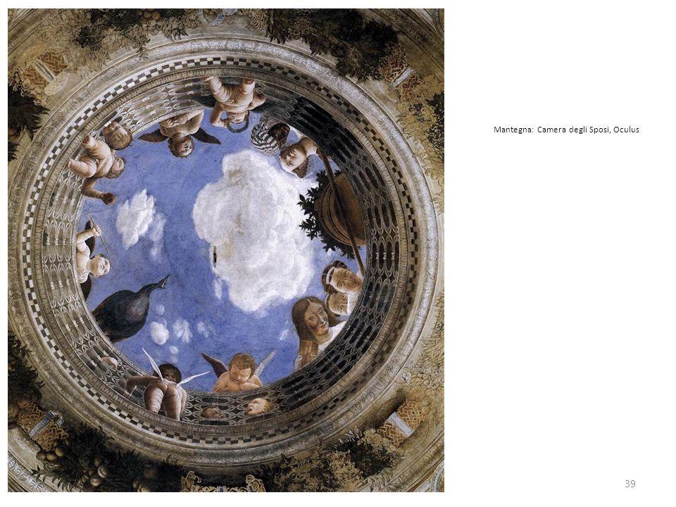 Mantegna: Camera degli Sposi, Oculus