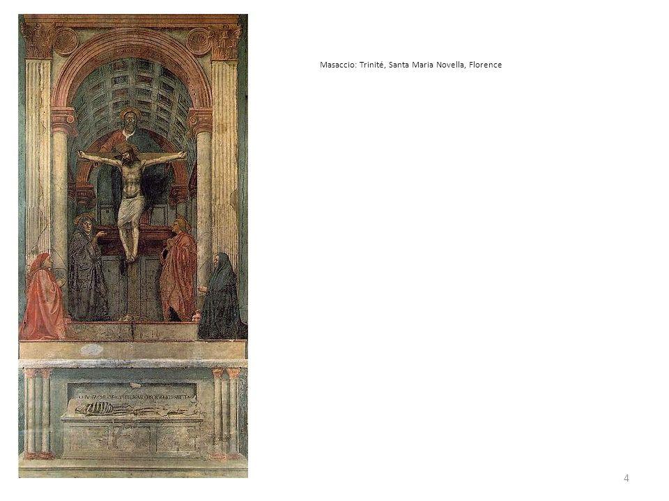Masaccio: Trinité, Santa Maria Novella, Florence