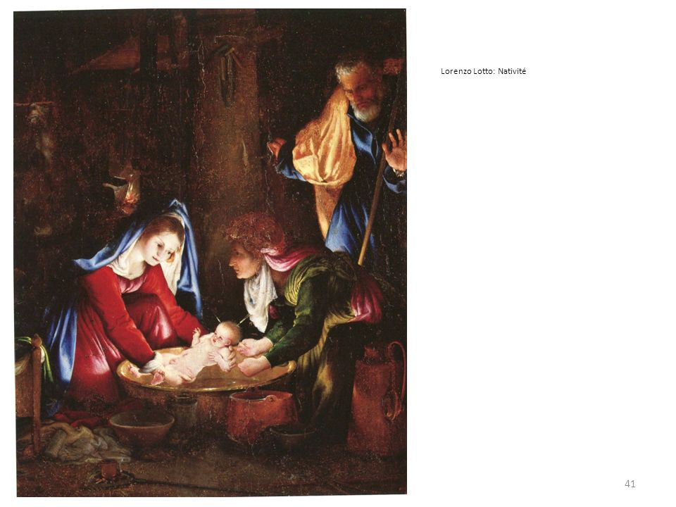 Lorenzo Lotto: Nativité